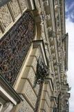 Schöne Fassade in St Petersburg Lizenzfreies Stockfoto