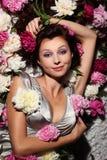 Schöne Fee von Blumen Lizenzfreie Stockfotografie