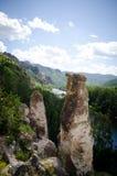 Schöne Felsen in Khakassia Lizenzfreies Stockfoto