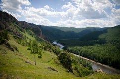 Schöne Felsen in Khakassia Stockfoto