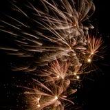 Schöne Feuerwerke Lizenzfreie Stockfotografie