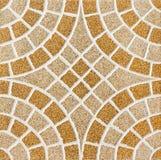 Schöne Fliese eines Marmors Alte Backsteinmauer Stockfotografie