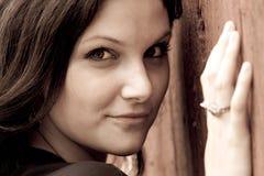Schöne Frau Stockfotografie