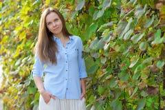 Schöne Frau Lizenzfreies Stockfoto
