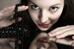 Schöne Frau. Art und Weisekunstfoto Lizenzfreie Stockbilder