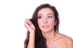 Schöne Frau - bilden Sie Stockfotografie