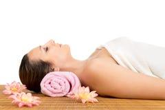 Massage im Badekurort Stockfotografie