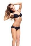 Schöne Frau im Bikini Lizenzfreies Stockbild