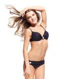 Schöne Frau im Bikini Lizenzfreie Stockfotos