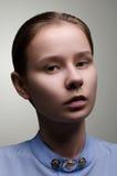 Schöne Frau Porträt der jungen Frau Lizenzfreies Stockfoto