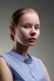 Schöne Frau Porträt der jungen Frau Stockfoto
