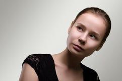 Schöne Frau Porträt der jungen Frau Lizenzfreie Stockfotos