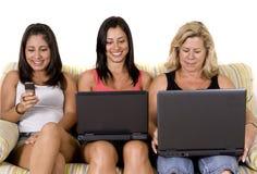 Schöne Frauenfamilie Lizenzfreie Stockbilder