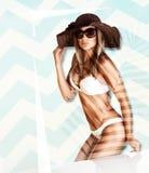 Schöne Frauenformung Stockbilder