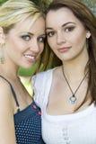 Schöne Freunde Stockfoto