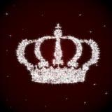 Schöne funkelnde Krone Stockfoto