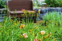 Schöne Gärten stockfoto