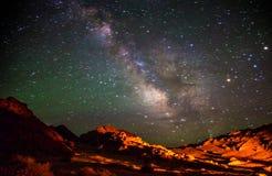Schöne Galaxie Lizenzfreie Stockfotografie