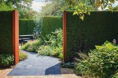 Schöne Gartenidee Stockbilder