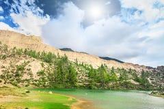 Schöne Gebirgslandschaft Stockfoto