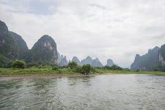 Schöne Gebirgslandschaft Stockbilder