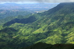 Schöne Gebirgslandschaft in Phutabberk Phetchabun, Thailand Lizenzfreie Stockfotografie