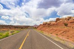 Schöne geologische Eigenschaften im Hintergrund Stockbilder