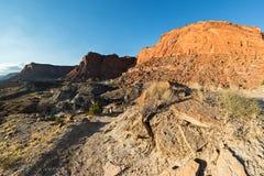 Schöne geologische Eigenschaften im Hintergrund Lizenzfreie Stockfotografie