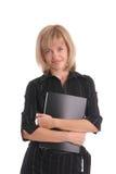 Schöne Geschäftsfrau 12 stockbild