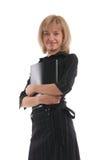Schöne Geschäftsfrau 17 stockfotografie