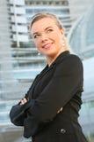 Schöne Geschäftsfrau Lizenzfreie Stockfotos