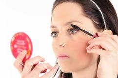 Schönes Gesichts-Make-up Lizenzfreie Stockbilder