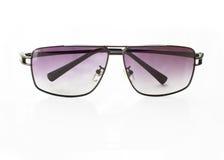 Schöne Gläser getrennt worden auf Weiß Lizenzfreie Stockbilder
