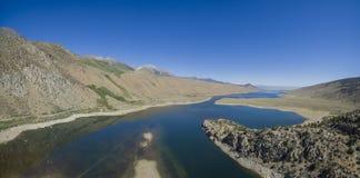 Schöne Grant Lake lizenzfreies stockfoto