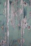 Schöne hölzerne, rustikale und cyan-blaue Beschaffenheit Stockfoto