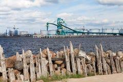 Schöne Hafenansicht Lizenzfreies Stockfoto