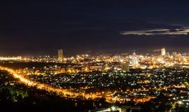 Schöne Hatyai-Stadt Stockfotos