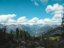 Schöne Himalajalandschaft lizenzfreies stockfoto