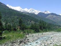 Schöne Himalajalandschaft Stockbild