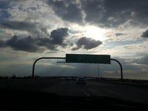 Schöne Himmel Stockbild
