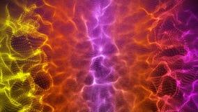 Schöne Hintergrund colorfull Schleifenanimation lizenzfreie abbildung
