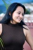 Schöne hispanische junge Frau Lizenzfreie Stockfotos