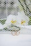 Schöne Hochzeitseinrichtung Lizenzfreies Stockbild
