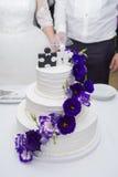Schöne Hochzeitseinrichtung Lizenzfreie Stockbilder