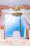 Schöne Hochzeitszeremonie Stockbild
