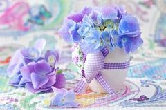 Schöne Hydrangeablumen Lizenzfreies Stockbild