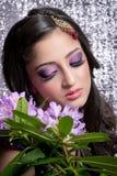 Schöne indische Braut Lizenzfreies Stockfoto