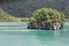 Schöne Insel Stockfotografie