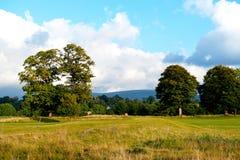 Schöne irische Landschaft Stockbild