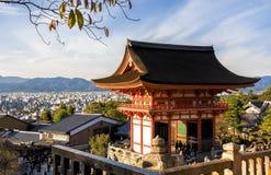 Schöne japanische Tempel Stockfotografie